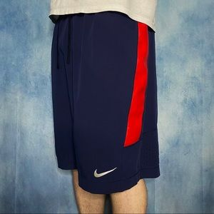 Nike Shorts Athletic Ole Miss Navy Blue
